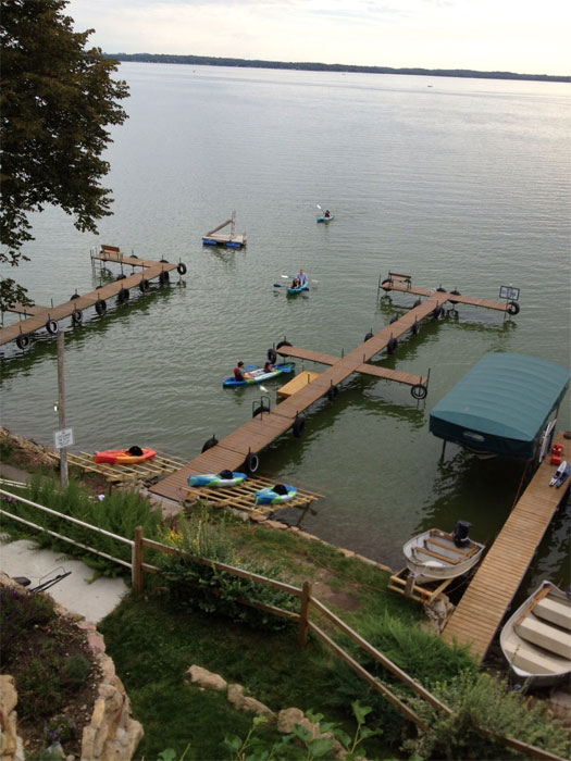Crown Point Resort in Stoughton, WI - Located on Lake